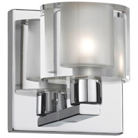 Dainolite Ellipse 1 Light Vanity in Polished Chrome V89-1W-PC