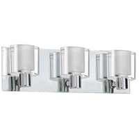Dainolite Ellipse 3 Light Vanity in Polished Chrome V89-3W-PC