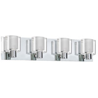 Dainolite Ellipse 4 Light Vanity in Polished Chrome V89-4W-PC