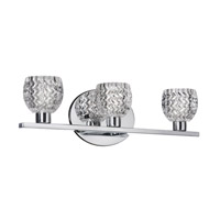 Dainolite Signature 3 Light Vanity in Polished Chrome V98-3W-PC