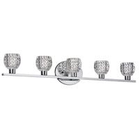 Dainolite Signature 5 Light Vanity in Polished Chrome V98-5W-PC