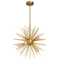 Signature 6 Light 20 inch Gold and Vintage Bronze Pendant Ceiling Light