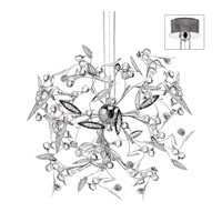 Dainolite Lighting Venus 25 Light Chandelier in Polished Chrome  VEN-33-25-PC