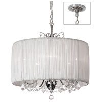 Dainolite Lighting Victoria 5 Light Chandelier in Polished Chrome  VIC-205C-PC-319