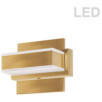 Dainolite VLD-215-1W-GLD Signature LED 6 inch Gold Vanity Wall Light in 1