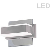 Signature LED 6 inch Polished Chrome Wall Vanity Wall Light