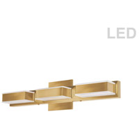 Dainolite VLD-215-3W-GLD Signature LED 20 inch Gold Vanity Wall Light in 3