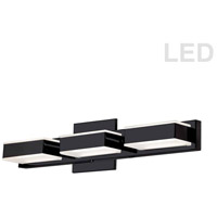 Dainolite VLD-215-3W-MB Signature LED 20 inch Matte Black Wall Vanity Wall Light