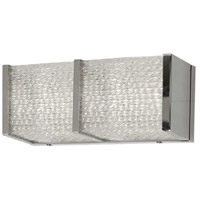 Chrome and Clear Wall Sconces