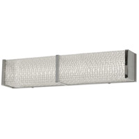 Signature LED 24 inch Clear and Polished Chrome Vanity Wall Light