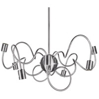 Dainolite WAI-258P-SC Waitsfield 8 Light 25 inch Satin Chrome Pendant Ceiling Light