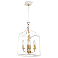 Dainolite WIN-214C-WH Windham LED 11 inch White Chandelier Ceiling Light