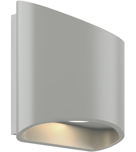 DALS Lighting LEDWALL-H-SG Wall H Series Satin Grey Indoor-Outdoor Sconce photo thumbnail