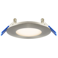 DALS Lighting 7003-SN 7000 Series Satin Nickel Recessed Panel Light Round