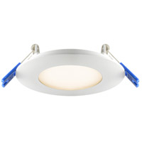 DALS Lighting 7003-WH 7000 Series White Recessed Panel Light Round