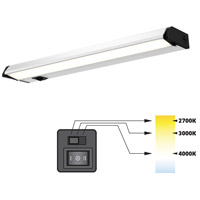 DALS Lighting 9018CC Color Temperature Changing 120V 18 inch Satin Nickel Linear Under Cabinet Light