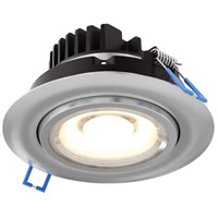 DALS Lighting GMB4-3K-SN Gmb Series Satin Nickel Gimbal Recessed Light Round