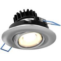 DALS Lighting LEDDOWNG3-SN Down G Series Satin Nickel Gimbal Recessed Light Round