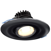 DALS Lighting LEDDOWNG4-BK Down G Series Black Gimbal Recessed Light, Round