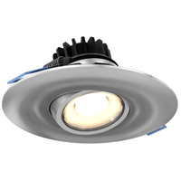 DALS Lighting LEDDOWNG4-SN Down G Series Satin Nickel Gimbal Recessed Light, Round
