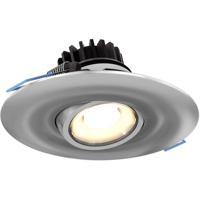 DALS Lighting LEDDOWNG4-SN Down G Series Satin Nickel Gimbal Recessed Light Round
