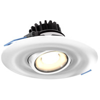 DALS Lighting LEDDOWNG4-WH Down G Series White Gimbal Recessed Light Round