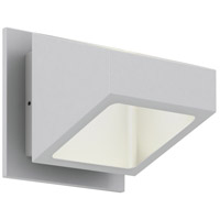 DALS Lighting LEDWALL004D-SG Wall 004 Series 1 Light 5 inch Satin Grey Indoor-Outdoor Sconce Trapezoidal Up and Down Projection