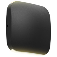 DALS Lighting LEDWALL005D-BK Wall 005 Series 1 Light 5 inch Black Indoor-Outdoor Sconce Slim Up and Down Projection