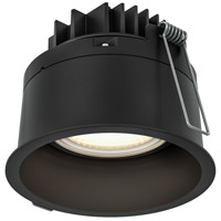 DALS Lighting RGM4-3K-BK Regressed Black Gimbal Recessed Light