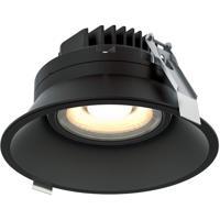 DALS Lighting RGM6-3K-BK Regressed Black Gimbal Recessed Light