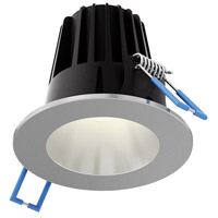 DALS Lighting RGR2-3K-SN Rgr Series Satin Nickel Baffle Recessed Light Round