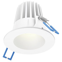 DALS Lighting RGR2-3K-WH Rgr Series White Baffle Recessed Light Round