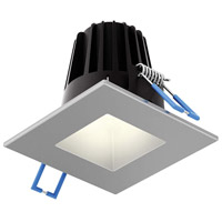 DALS Lighting RGR2SQ-3K-SN Rgr Series Satin Nickel Baffle Recessed Light Square