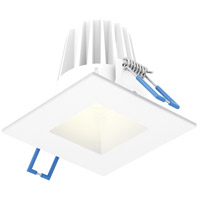 DALS Lighting RGR2SQ-3K-WH Rgr Series White Baffle Recessed Light Square