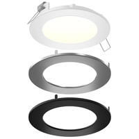 DALS Lighting SPN4-CC-3T Color Temperature Changing Spn All-in-One Colors Recessed Panel Light Round