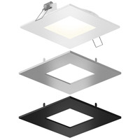 DALS Lighting SPN4SQ-CC-3T Color Temperature Changing Spn All-in-One Colors Recessed Panel Light Square