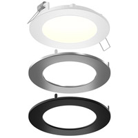 DALS Lighting SPN6-CC-3T Color Temperature Changing Spn All-in-One Colors Recessed Panel Light Round