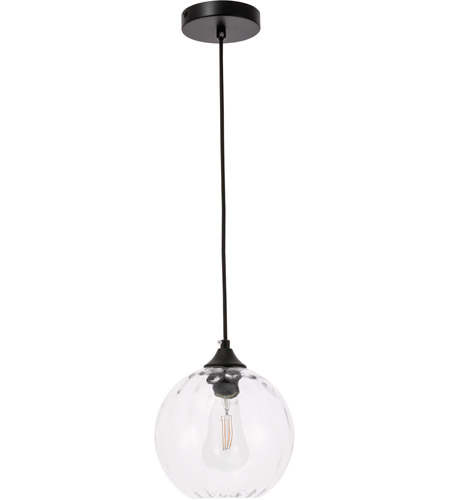 Decovio 12764-B1 Womelsdorf 1 Light 8 inch Black Pendant Ceiling Light alternative photo thumbnail