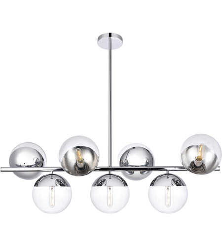Decovio 12988-CI7 Oyster Bay 7 Light 18 inch Chrome Pendant Ceiling Light photo thumbnail