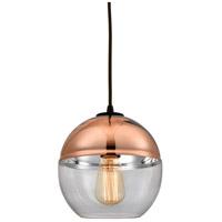 Decovio 13260-ORCC1 Kingsbury 1 Light 8 inch Oil Rubbed Bronze Mini Pendant Ceiling Light