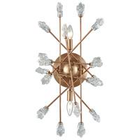 Decovio 13357-MGCB2 Shillington 2 Light 12 inch Matte Gold Sconce Wall Light