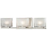 Decovio 13409-BN3 Tobyhanna 3 Light 20 inch Brushed Nickel Vanity Light Wall Light