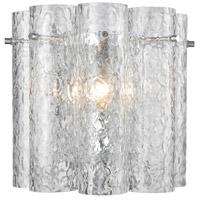 Decovio 13456-PCCT1 Palmerton 1 Light 10 inch Polished Chrome Sconce Wall Light