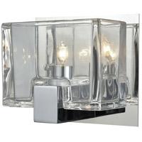 Decovio 13467-PCCC1 Dobbs 1 Light 6 inch Polished Chrome Vanity Light Wall Light