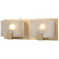 Decovio 13472-SBFC2 Dobbs 2 Light 14 inch Satin Black Vanity Light Wall Light