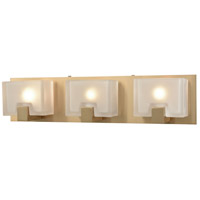 Decovio 13473-SBFC3 Dobbs 3 Light 21 inch Satin Black Vanity Light Wall Light