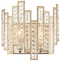 Decovio 13481-MGCI2 Swissvale 2 Light 11 inch Matte Gold with Polished Nickel ADA Sconce Wall Light