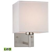 Decovio 13820-BNL1 Reade LED 7 inch Brushed Nickel Sconce Wall Light
