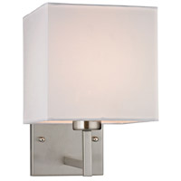 Decovio 13820-BN1 Reade 1 Light 7 inch Brushed Nickel Sconce Wall Light