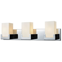 Decovio 13861-PCOW3 Washingtonville 3 Light 25 inch Polished Chrome Vanity Light Wall Light